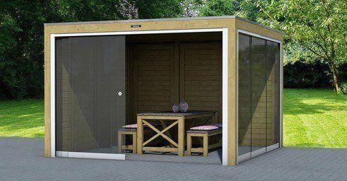 Losse Overkapping Tuin : Vrijstaande overkapping balkon en terras tuin