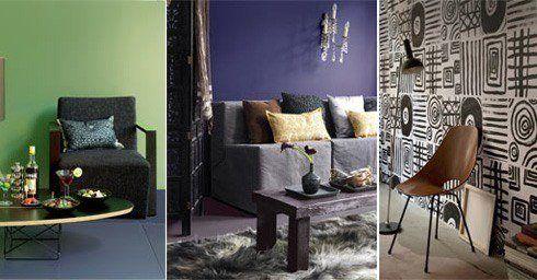 Charme Donkere Interieurs : De charme van donkere kleuren interieur en kleur interieur