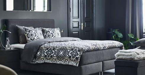 nieuwe ikea boxsprings bed en matras slaapkamers