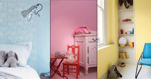 Kleuren maken het kind kinderkamer slaapkamers