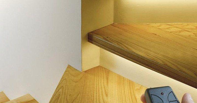 Trapverlichting met led   Verlichting   Interieur