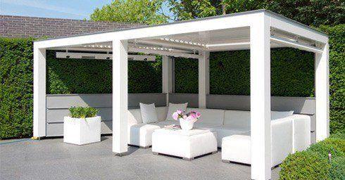 Livium introduceert louvre pergola balkon en terras tuin