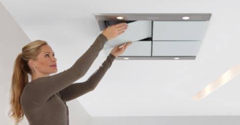 Afzuigkap In Plafond : Speurders plafond afzuigkap