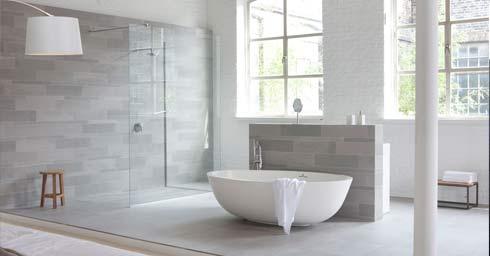 Hoogte Sierstrip Badkamer : Badkamervloer wand badkamer page