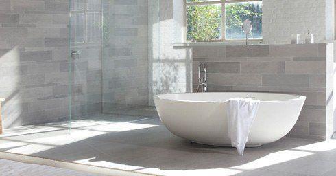 Natuursteen badkamervloer | Badkamervloer & wand | badkamer