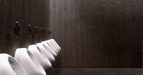 Tegels Badkamer Stroken : Mosa langwerpige tegels badkamervloer wand badkamer