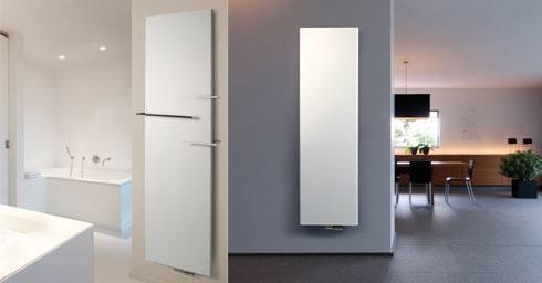 zwevende designradiator | Badkamer radiatoren | badkamer