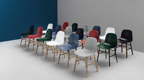 Normann Copenhagen Stoel : Normann copenhagen form stoel meubels interieur