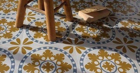 Plak Pvc Tegels : Plak je eigen retro vloer vloeren