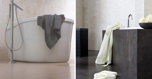Kurk in de badkamer | Badkamervloer & wand | badkamer