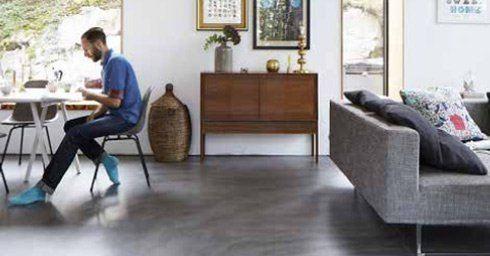 Gietvloer Betonlook Keuken : Een gietvloer met betonlook giet en betonlook vloeren vloeren