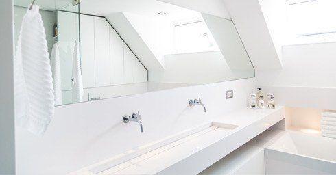 Sereen witte badkamer | badkamer