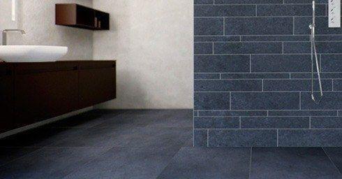 Badkamervloer - tegels | Badkamervloer & wand | badkamer