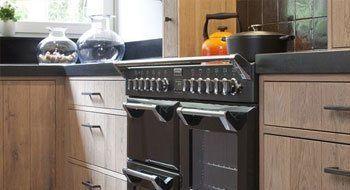Vrijstaande fornuizen kooksystemen keuken