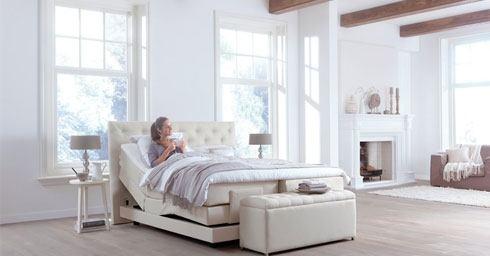 romantiek in de slaapkamer bed en matras slaapkamers. Black Bedroom Furniture Sets. Home Design Ideas