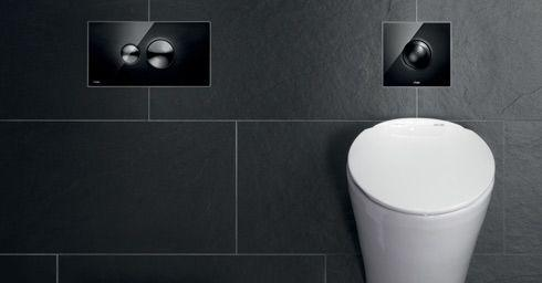 Toilet Accessoires Zwart : Toiletrolhouder nomad zwart tiger