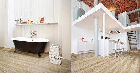 Keuken Badkamer Vloeren : Vinyl voor badkamer en keuken badkamervloer wand badkamer