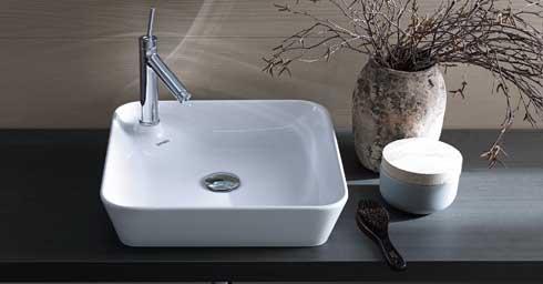 Philippe Starck Wastafel : Duravit starck opzet wastafel cm geslepen zonder kraangat