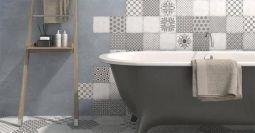 Losse Tegels Badkamer : Badkamervloer wand badkamer