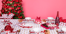 HEMA ♥ Viktor&Rolf  introduceren limited edition 'jingle bows kerstcollectie'