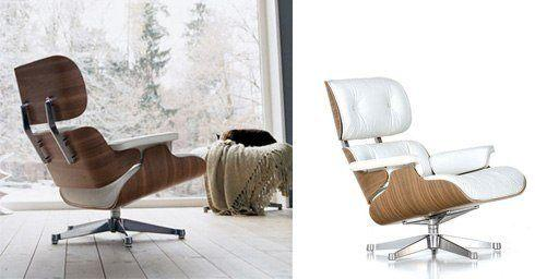lounge chair van Ray en Charles Eame