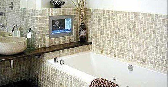 Badkamer tv goedkoop persoons bungalow wbc roompot vakanties