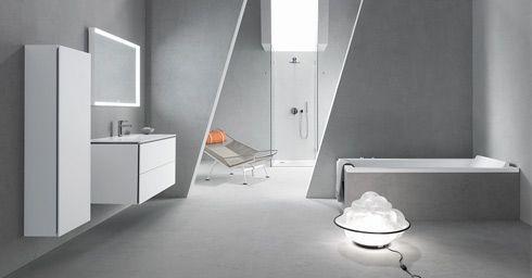 Badkamervloer wand badkamer