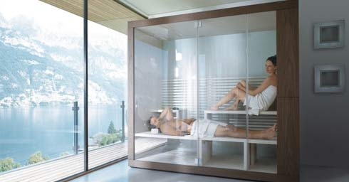 Sauna In Badkamer : Sauna & wellness badkamer