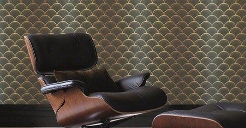Behang Verschillende Interieurstijlen : Behang wandbekleding interieur page