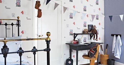 Behang Kinderkamer Regenboog : Kinderkamer slaapkamers page 10